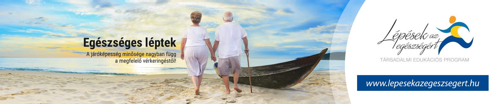 Egészséges léptek - A járóképesség minősége nagyban függ a megfelelő vérkeringéstől.