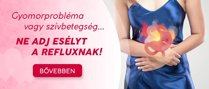 Gyomorprobléma vagy szívbetegség... Ne adj esélyt a refluxnak!